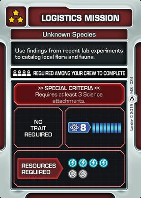 Unknown Species