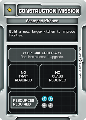 Cramped Kitchen