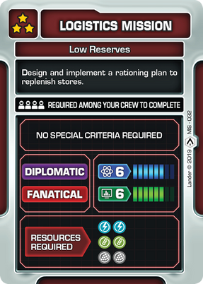 Low Reserves