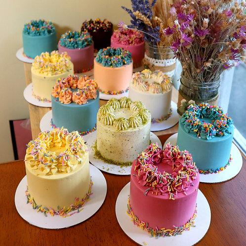 Mini Cake (2-4 servings) - Blueberry
