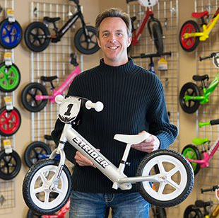Founder of Strider Balance Bikes