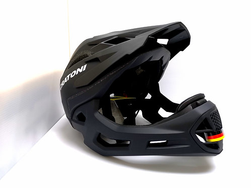 Cratoni C-Maniac Full Face Helmet Standard Black