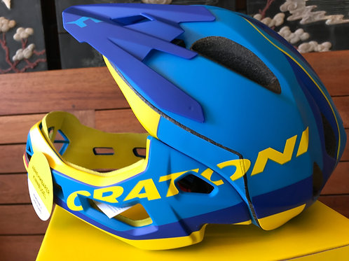Cratoni Blue/Yellow