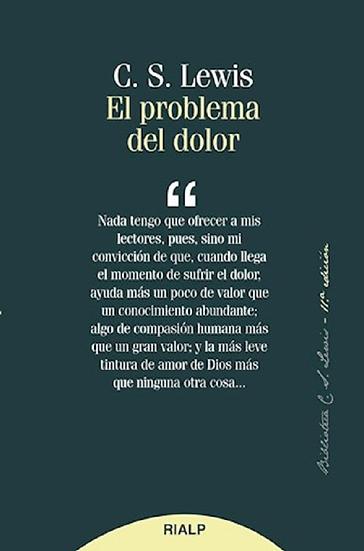 EL PROBLEMA DEL DOLOR. LEWIS, C. S.
