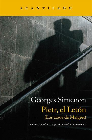 PIETR, EL LETÓN. SIMENON, GEORGES