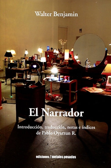 EL NARRADOR. BENJAMIN, WALTER