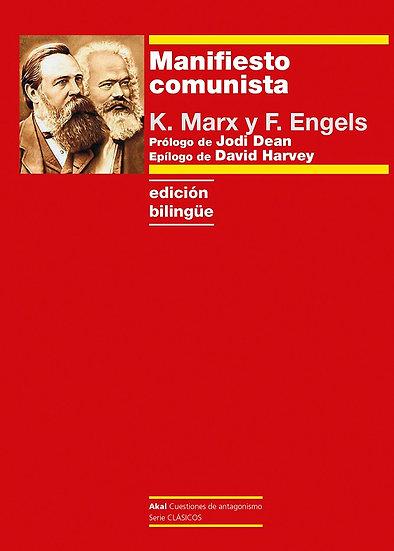 MANIFIESTO COMUNISTA (EDICIÓN BILINGÜE). MARX, KARL - ENGELS, FRIEDRICH