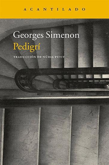 PEDIGRÍ. SIMENON, GEORGES