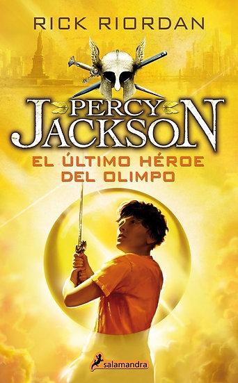 EL ÚLTIMO HÉROE DEL OLIMPO (PERCY JACKSON 5). RIORDAN, RICK