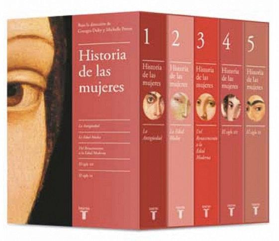 HISTORIA DE LAS MUJERES (EDICIÓN ESTUCHE 5 TOMOS). DUBY, GEORGE