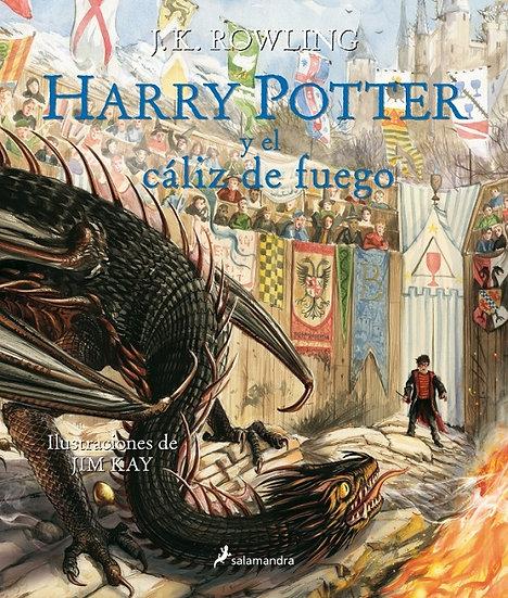 HARRY POTTER Y EL CÁLIZ DE FUEGO (HARRY POTTER 4 ILUSTRADO). ROWLING, J. K.