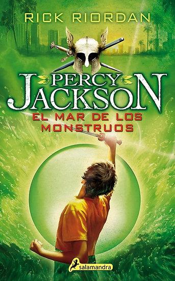 EL MAR DE LOS MONSTRUOS (PERCY JACKSON 2). RIORDAN, RICK