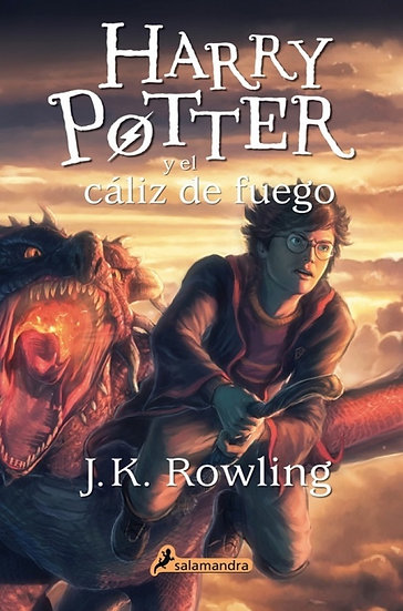 HARRY POTTER Y EL CÁLIZ DE FUEGO (HARRY POTTER 4). ROWLING, J. K.