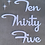 Thumbnail: Custom Mid Century Cursive Words