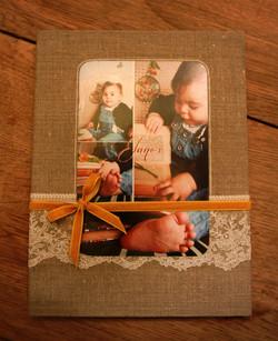 Pochette lin 10 photos