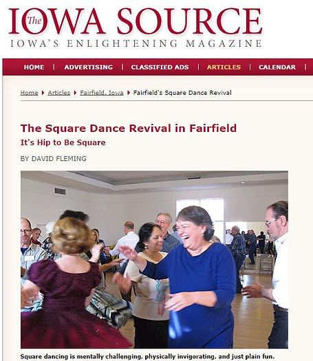Fairfield Source - Square Dance Revival in Fairfield Iowa