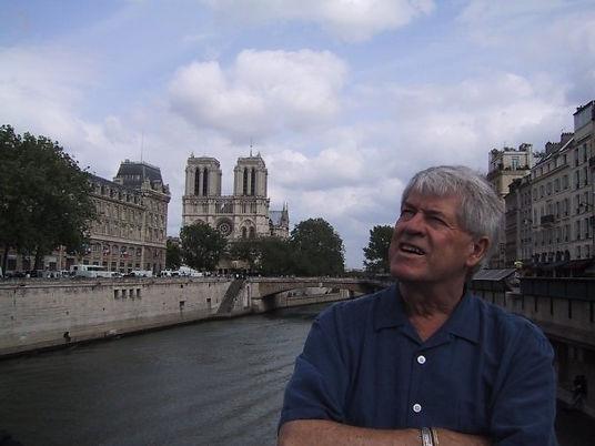 Enjoying Paris from the Seine