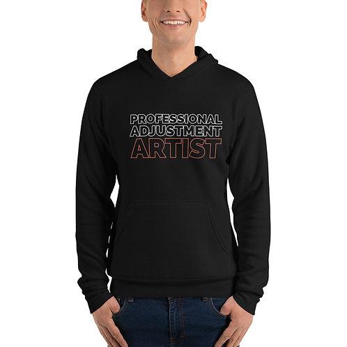 Adjustment Artist Unisex hoodie