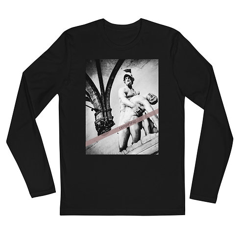 Censorship Long Sleeve Fitted Crew