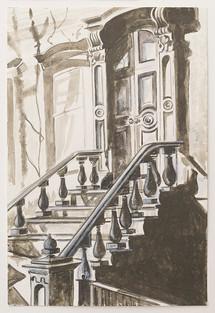 Greenwich Village Stoop No 10