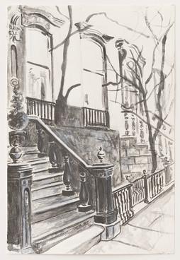 Greenwich Village Stoop No 3