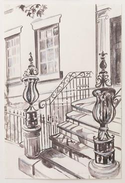 Greenwich Village Stoop No 8