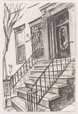 Greenwich Village Stoop No 1