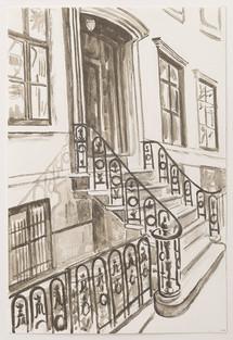 Greenwich Village Stoop No 4