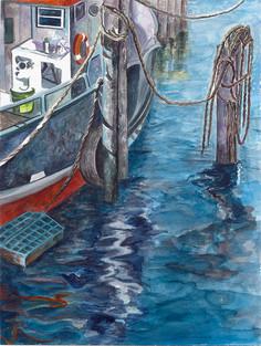 Montauk Dockside No 2