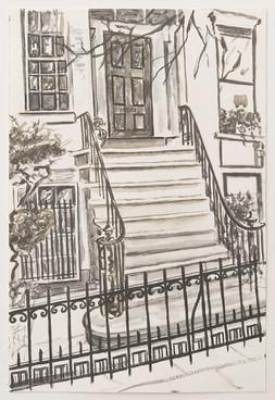 Greenwich Village Stoop No 11