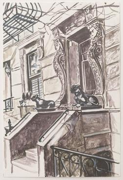 Greenwich Village Stoop No 5