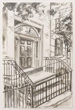 Greenwich Village Stoop No 7
