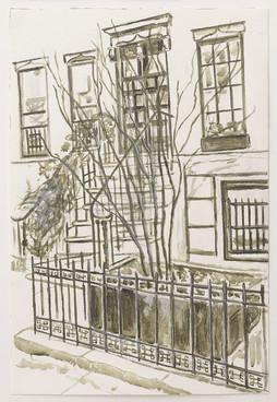 Greenwich Village Stoop No 6