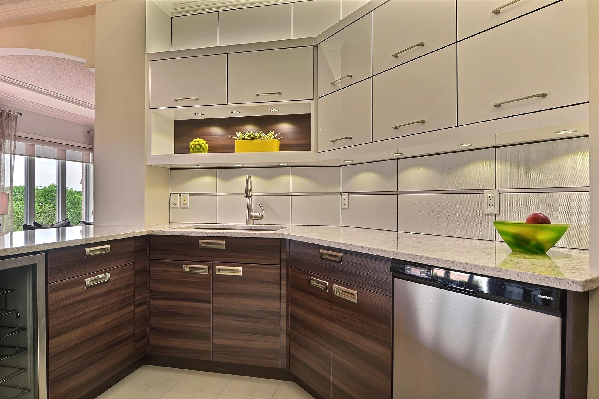 K par k cuisines et salles de bains - Cuisine 2 couleurs ...