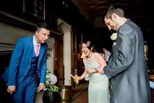 magic at a cardiff wedding
