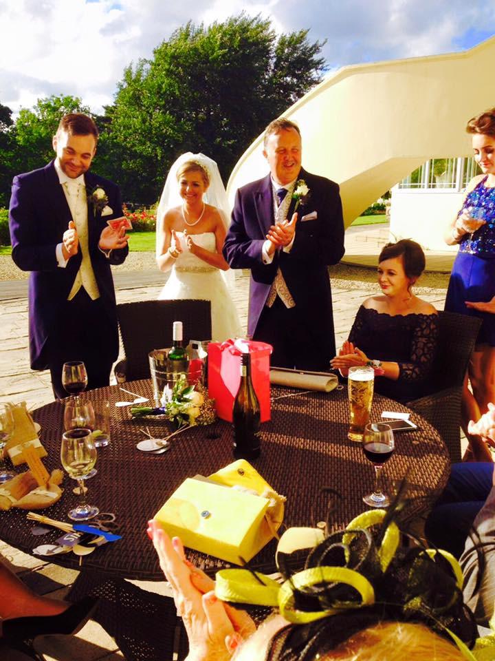 wedding magician, magician cardiff, bridgend magician