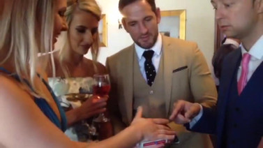 Cardiff magician performs amazing trick with £2 coin