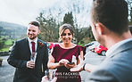 bridgend magician James Hawkr at a bridgend wedding