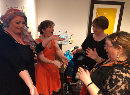 It was an honour to be the magician in Cardiff's Black & Orange Ball 2018