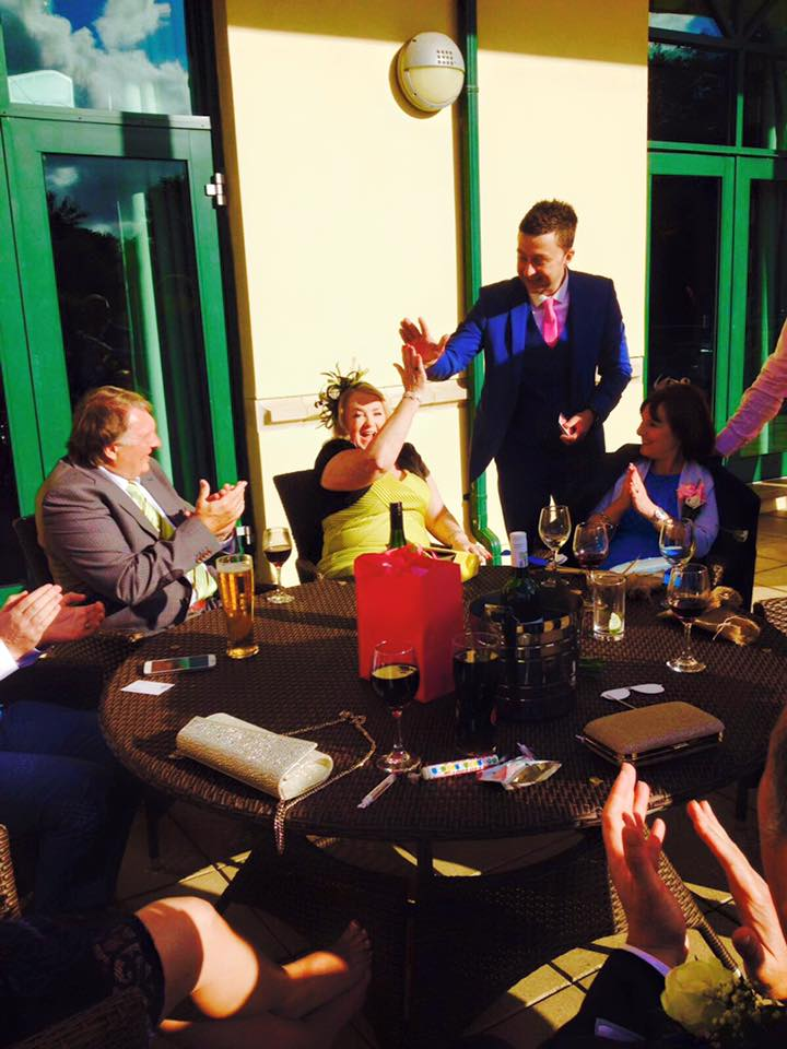 wedding magician in newport