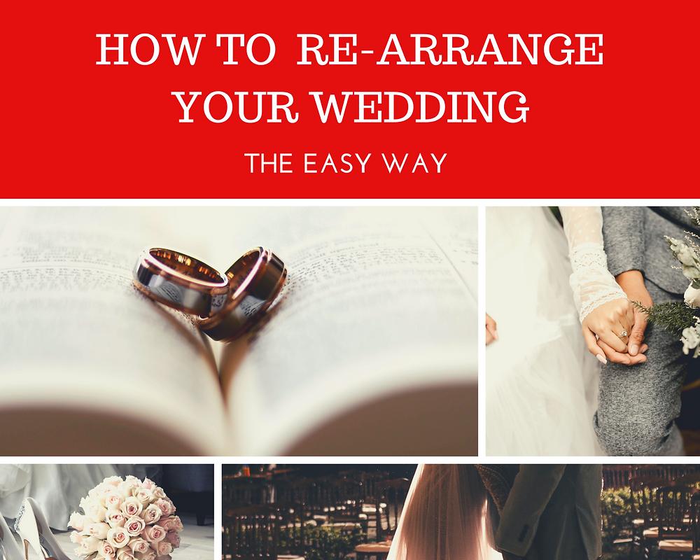 Cardiff wedding magician writes a blog to help couples re-arrange their wedding because of coronavirus