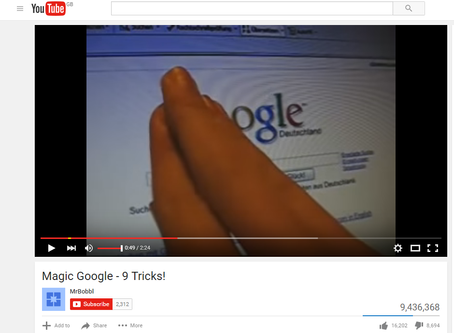 FREE MAGIC | Easy Google magic you can do on friends or work colleagues