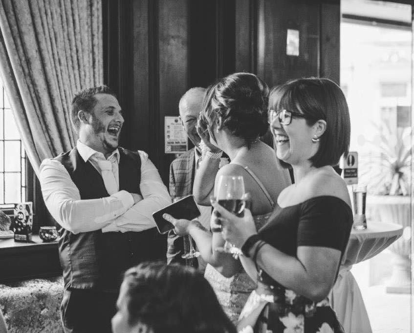 wedding magician cardiff