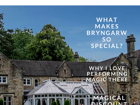 Magical weddings at Bryngarw House