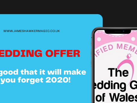 A wedding offer to make you forget 2020!