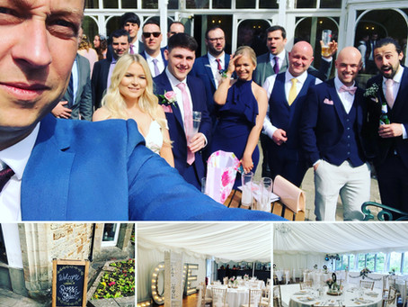 Why I love being a wedding magician & the wonderful wedding of Ross & Rhian