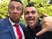 swansea magician, Swansea wedding magician with guest