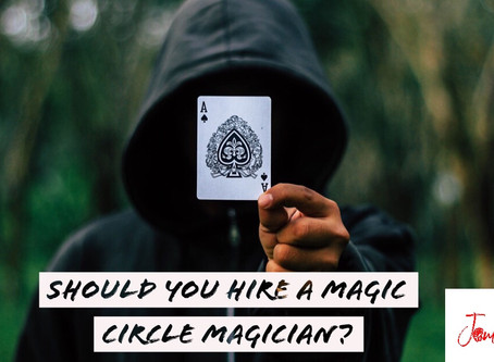 What is the MAGIC CIRCLE&should the magician you hire for YOUR wedding be a member?