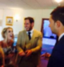Pembroke magician, Pembroke wedding magician, magicians pembroke