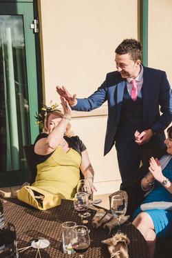 wedding magician newport